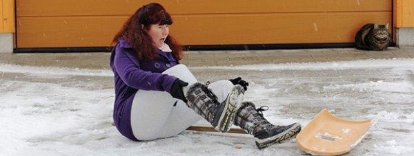 Ice/Snow accident attorney
